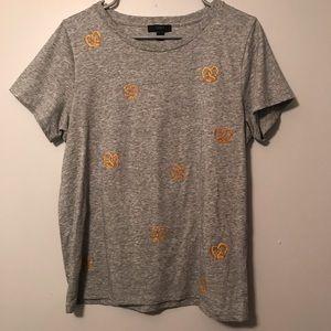 J. Crew Pretzel T-Shirt size Large